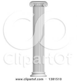 Columns clipart white pillar