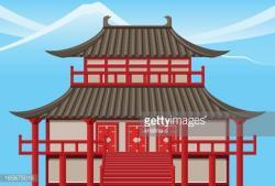 Temple clipart japan temple