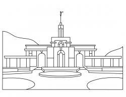 Chapel clipart lds church
