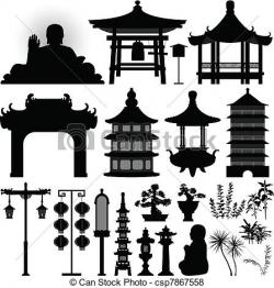 Shrine clipart chinese temple