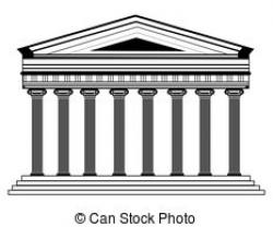 Temple clipart pantheon