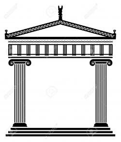 Columns clipart temple pillar
