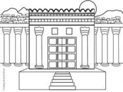 Synagogue clipart solomon's temple
