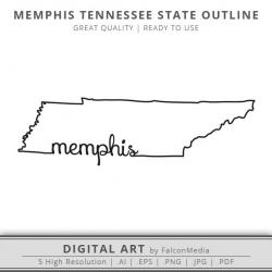 Tennessee clipart Tennessee Outline