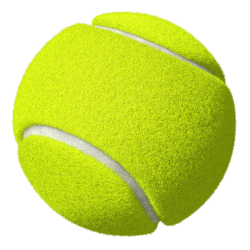Tennis Ball clipart transparent