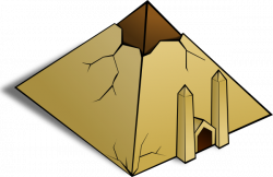 Structure clipart egypt pyramid