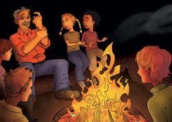 Camp Fire clipart campfire story