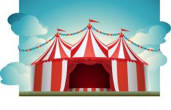 Carneval clipart tent sale