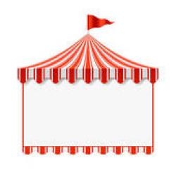 Circus clipart curtain