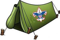 Tent clipart cub scout
