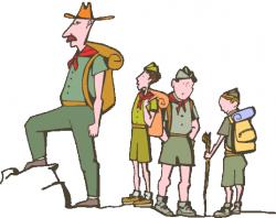 Campire clipart boy scout camp