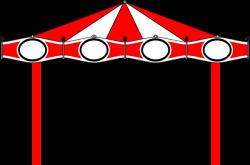 Carousel clipart fair