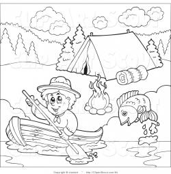 Row Boat clipart cub scout