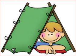 Campire clipart reading