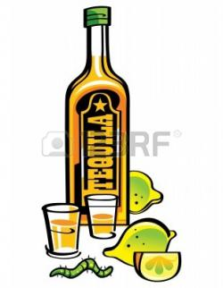 Tequila clipart cartoon