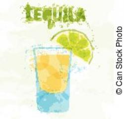 Tequila clipart lime