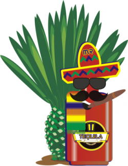 Tequila clipart mexico food