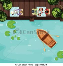 Terrace clipart top view