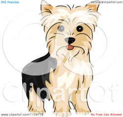 Yorkies clipart yorkshire terrier