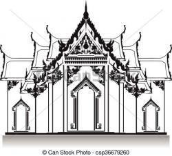 Thailand clipart thailand temple