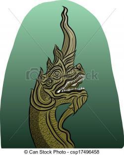Thai clipart dragon