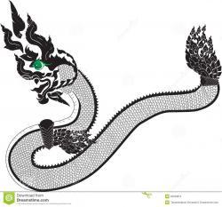 Thailand clipart dragon