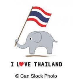 Elephant clipart thailand