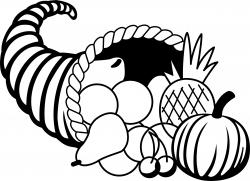 Cornucopia clipart thanksgiving stuffing