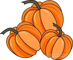 Pumpkin clipart stacked