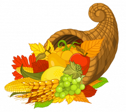 Cornucopia clipart transparent