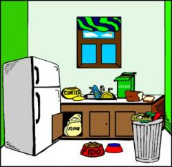 The Kitchen clipart