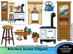 Kitchen clipart kitchen window