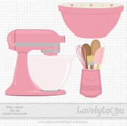 Baking clipart mixing bowl