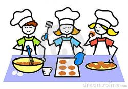 Baking clipart cartoon