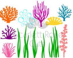 Coral clipart seagrass