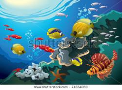 Coral Reef clipart underwater world