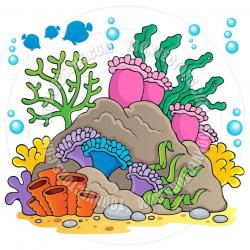 Coral Reef clipart sea coral
