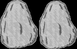 Boulders clipart sea rock