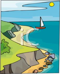 The Sea clipart shoreline