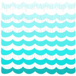 The Sea clipart wave pattern