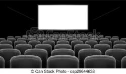 Audience clipart cinema hall