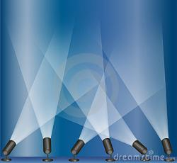 Lights clipart concert stage