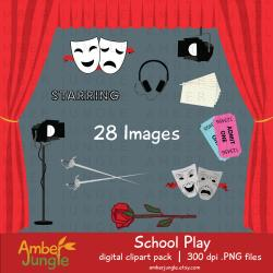 Broadway clipart drama class