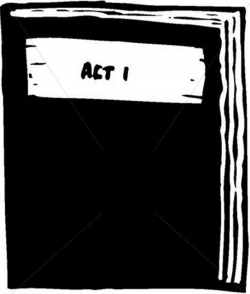 Actor clipart play script