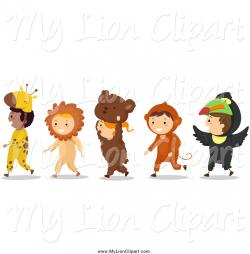 Child clipart role playing