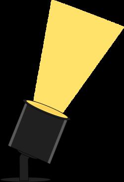 Floor clipart spotlight