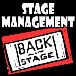 Theatre clipart stage manager
