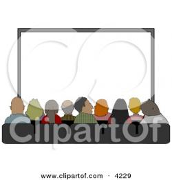 Theatre clipart theatre audience