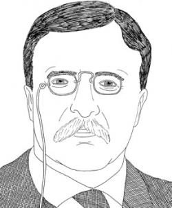 Theodore Roosevelt clipart Theodore Roosevelt Drawing