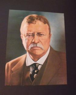 Theodore Roosevelt clipart Theodore Roosevelt In Color